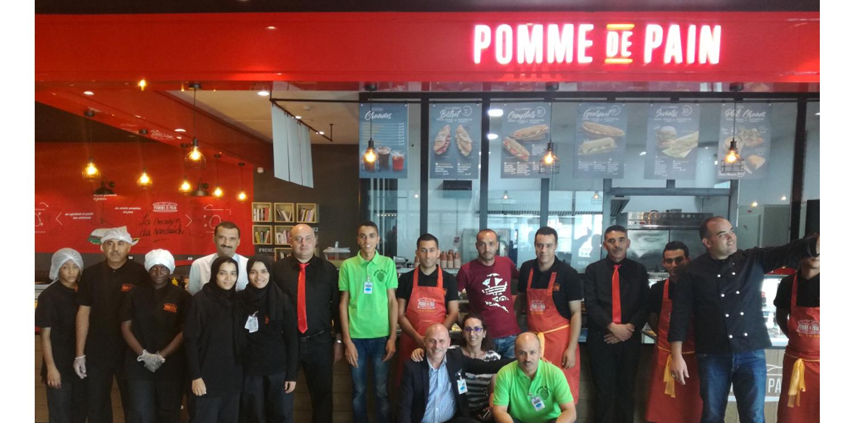 Aéroport Djerba Zarzis : Newrest Tunisie a ouvert un restaurant Pomme de Pain