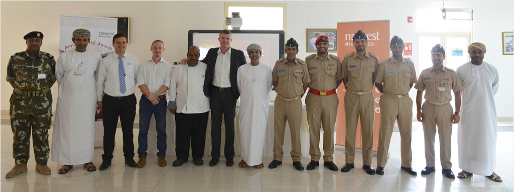 """Oman: Newrest Wacasco awarded the winners of the """"Annual QHSE awards"""""""