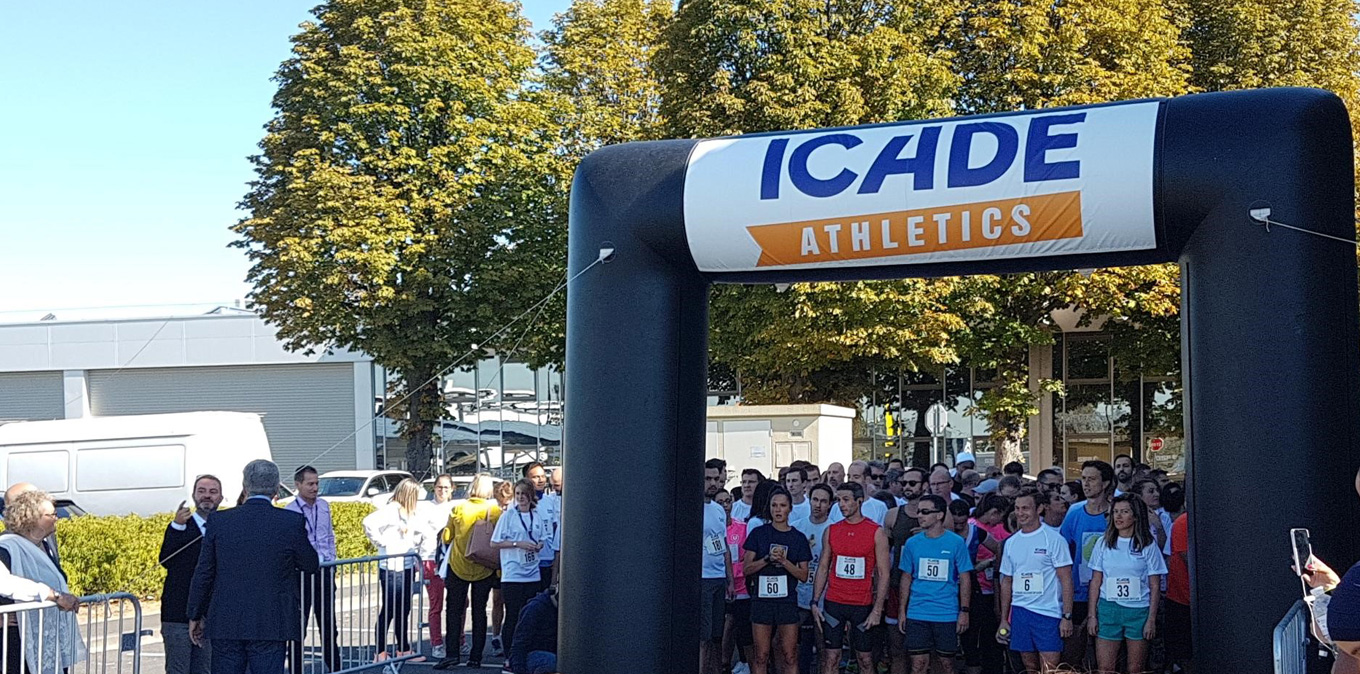 Newrest Restauration participated in the ICADE Solidarity Race in Rungis