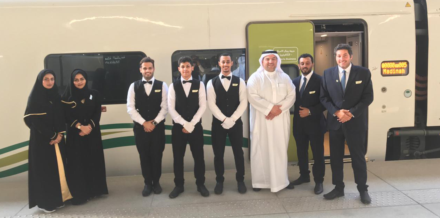 SACC announced the launching of the commercial operation of Al Haramain train