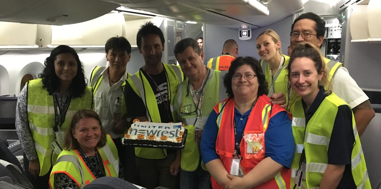 Newrest Polynésie Française démarre un nouveau contrat avec United Airlines