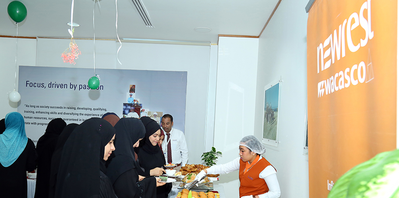 Schlumberger : Newrest Wacasco célèbre la Journée de la Femme omanaise