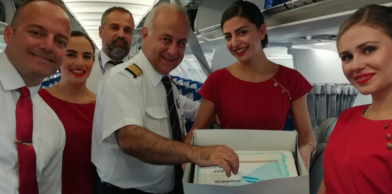 Athènes : Newrest Grèce démarre un nouveau contrat avec Ellinair
