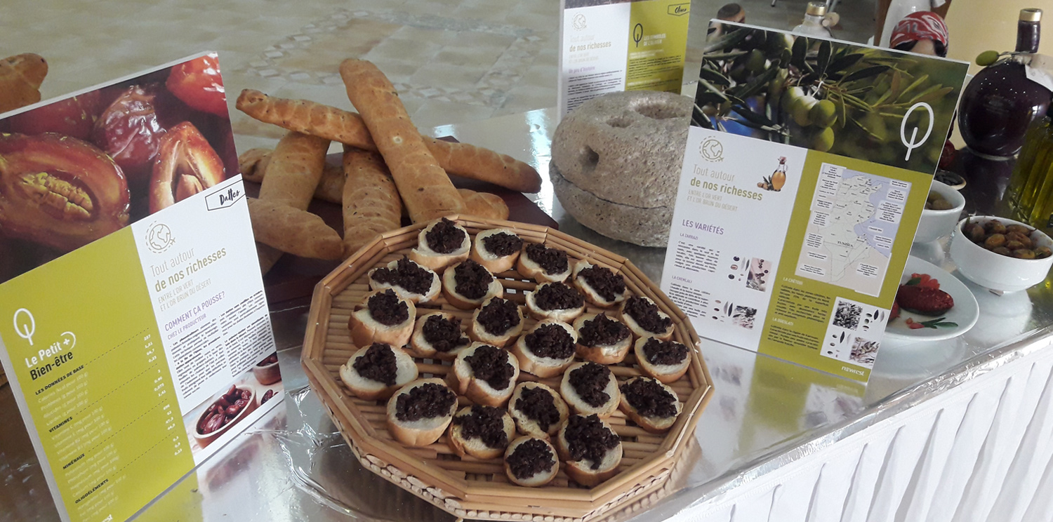 International School of Carthage: Olives & Dates honored by Newrest Tunisia
