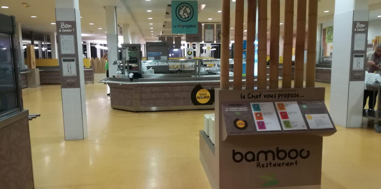 Du nouveau pour le BAMBOO RESTAURANT by Newrest !