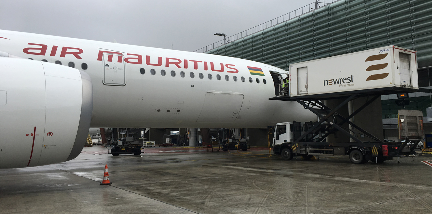 Paris CDG: Newrest France starts a new contract with Air Mauritius