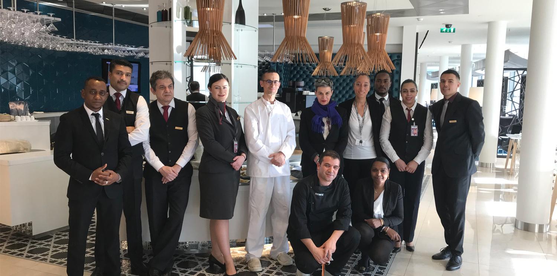 Newrest France assure les prestations du salon d'aéroport Qatar Airways à CDG