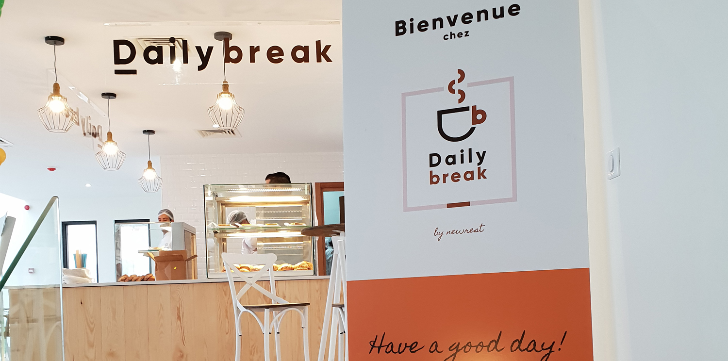 Newrest Tunisia has installed The Lunch and Daily Break at Actia Group