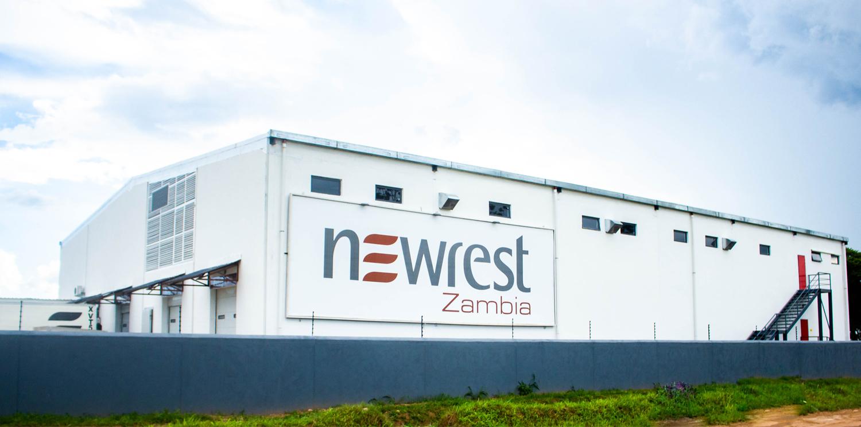 Newrest Zambie a inauguré sa nouvelle unité de production à Lusaka