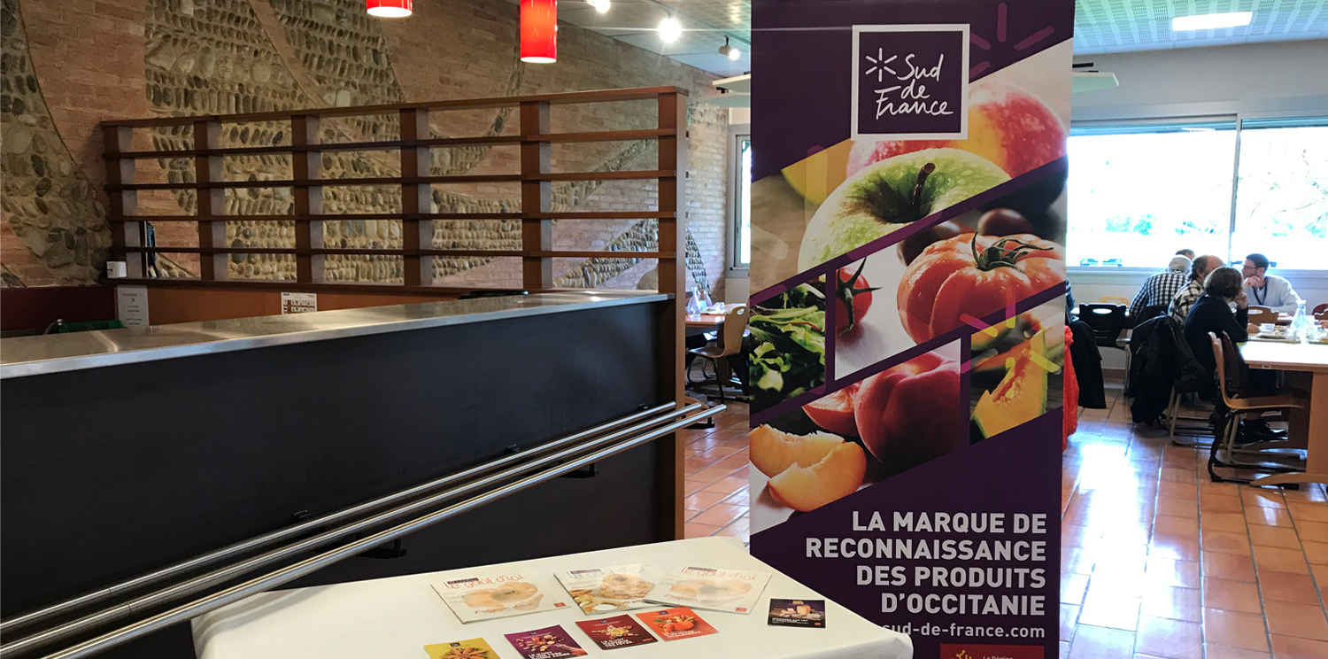 """The DGA of Balma tasted the products """"Sud de France"""""""