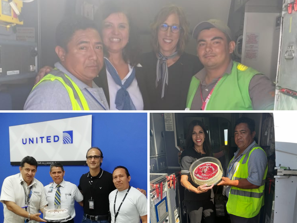 Two Years Of Collaboration For Newrest Mexico And United Airlines In Cancun