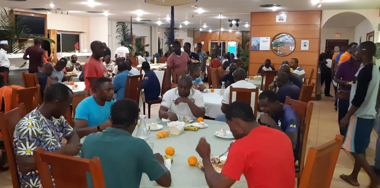 Des repas à thème sur les sites de Newrest Gabon !