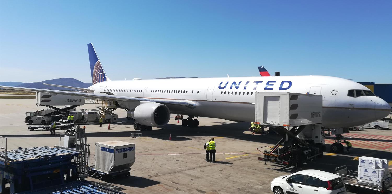 Newrest Athènes accueille United Airlines pour la saison estivale 2019