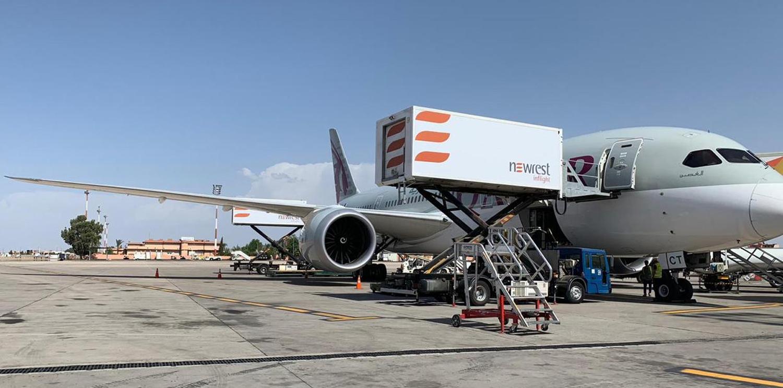 Newrest à Marrakech démarre un nouveau contrat avec Qatar Airways Maroc