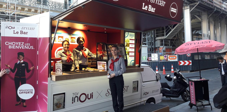 TGV InOui has partnered with Stylist Magazine