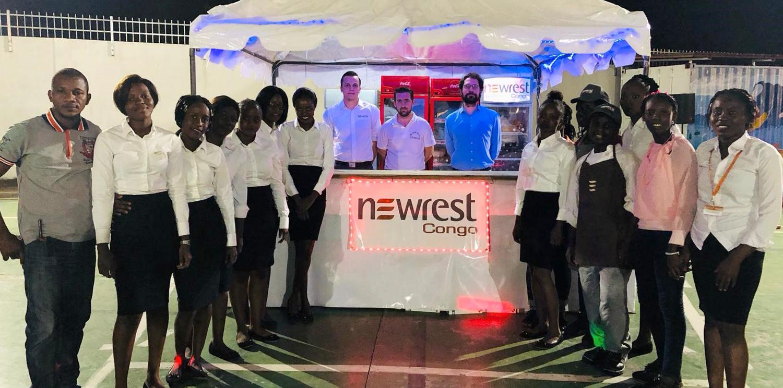 Newrest Congo à la remise de diplômes du Bac au Lycée Français de Pointe Noire