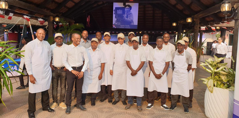 14 juillet : Newrest Angola a assuré la restauration à l'Ambassade de France