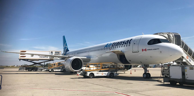 Newrest CDG continue son partenariat avec Air Transat