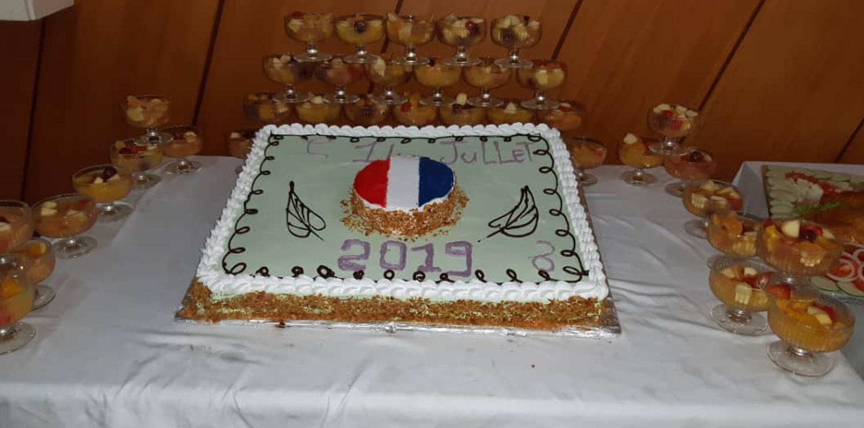 Célébration du 14 Juillet sur les sites de Newrest Gabon !