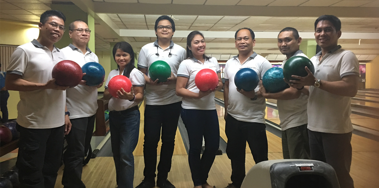 C'est l'heure du bowling pour Newrest SOS !