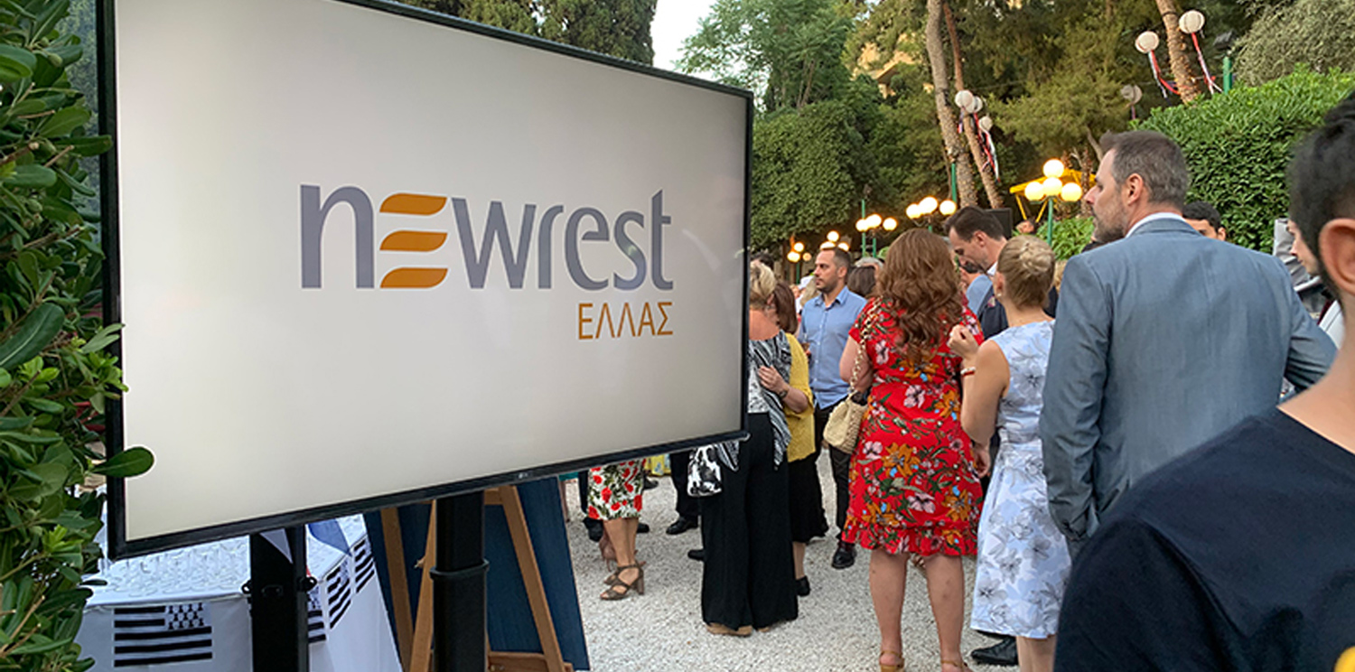 Newrest Greece celebrated the French Bastille Day in Athens