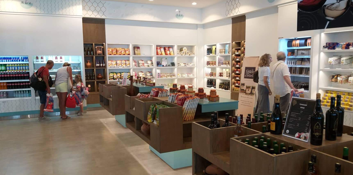 'Le RDV' at Djerba-Zarzis airport: like a country rich in flavors!