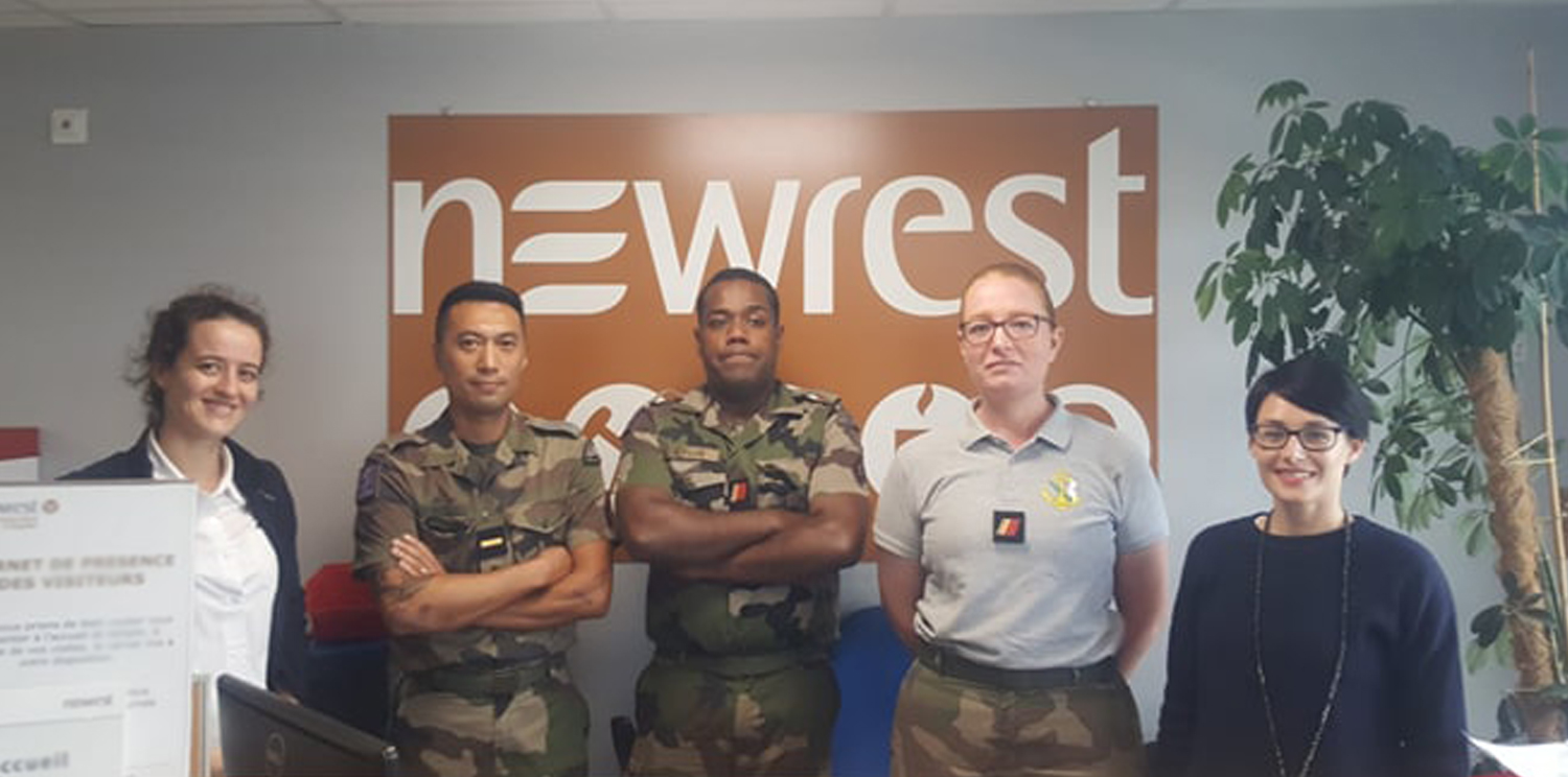Newrest in New Caledonia welcomed and trained the RSMA-NC