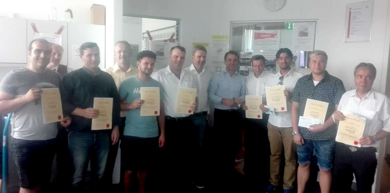 Autriche : Newrest Wagons-Lits a remis les prix du challenge des ventes à bord