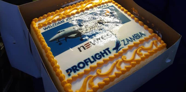 Newrest Zambie et la compagnie aérienne Proflight continuent leur collaboration
