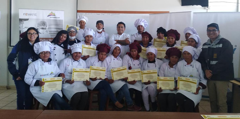 Pérou : Newrest et Antapaccay organisent des ateliers pour les habitants