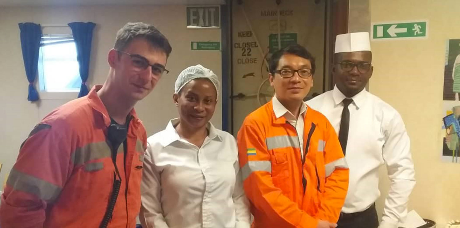 Newrest has received the visit of the French Ambassador in Gabon