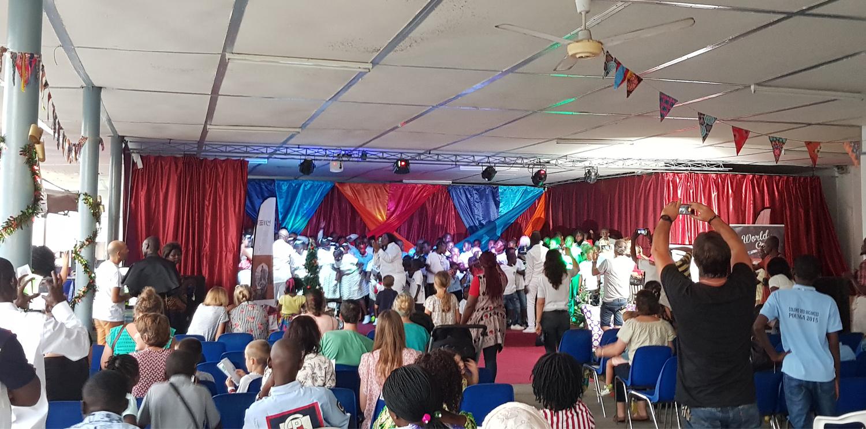 Newrest Congo au Spectacle Solidaire de Noël