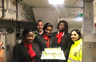 Newrest España and Air Sénégal