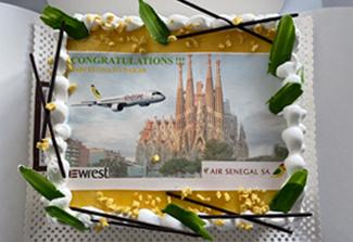 Air Sénégal and Newrest España