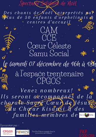 Newrest Congo Spectacle Solidaire