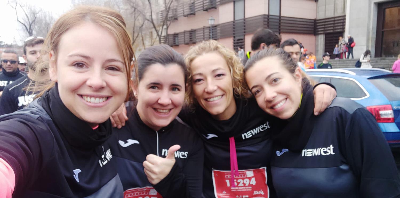 Newrest Espagne a participé à la Course des Entreprises à Madrid