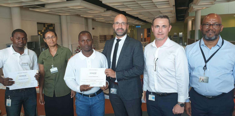 Newrest Angola rewards the best employee