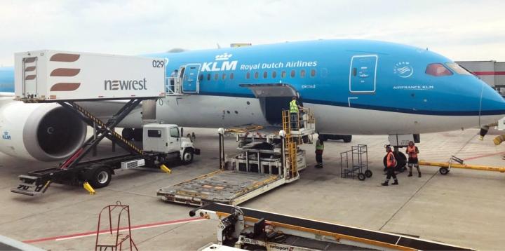 Welcome back again KLM