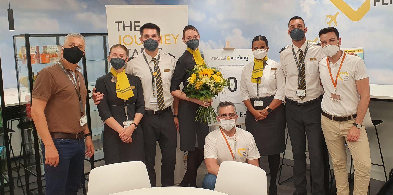 Newrest Travel Retail innove pour son partenariat avec Vueling en Espagne.