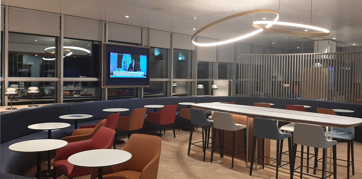 Newrest opens the new Air France Lounge at Geneva Airport