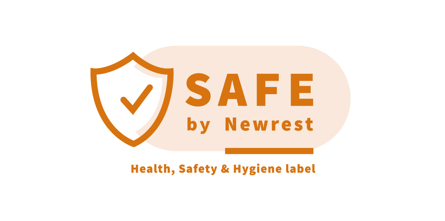 Our new safety and hygiene label SAFE by Newrest secures our operations