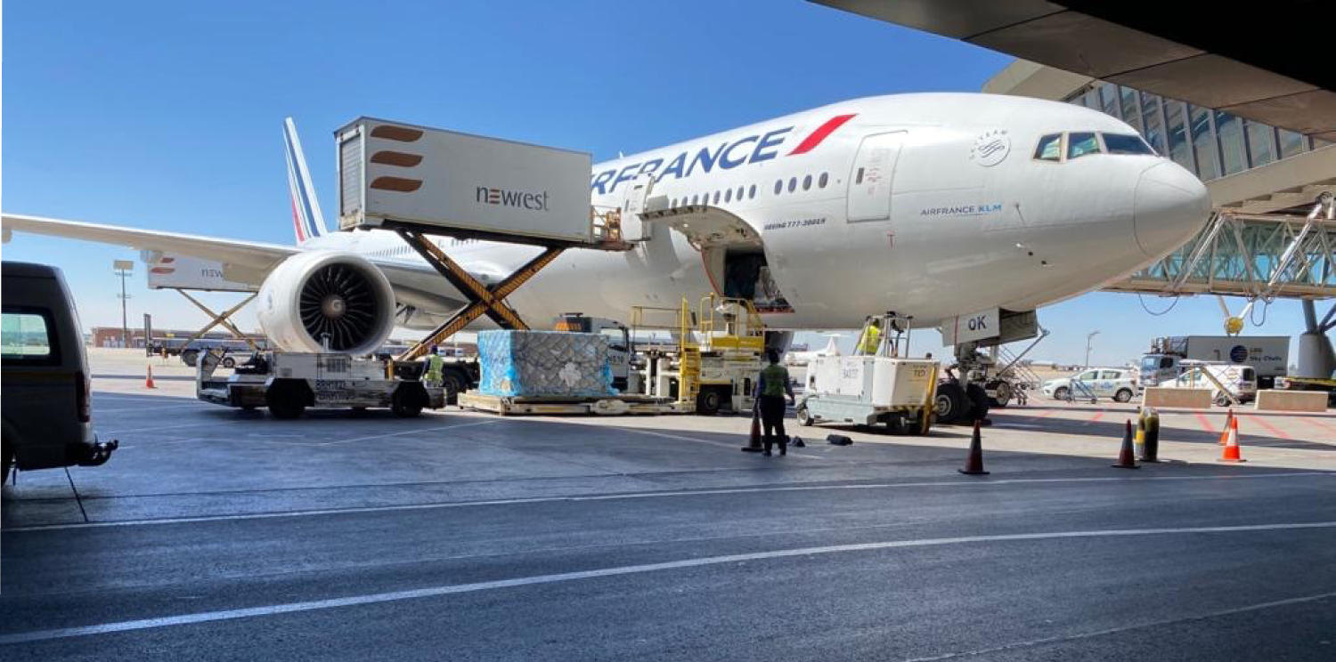 Newrest South Africa launches operations with Air France