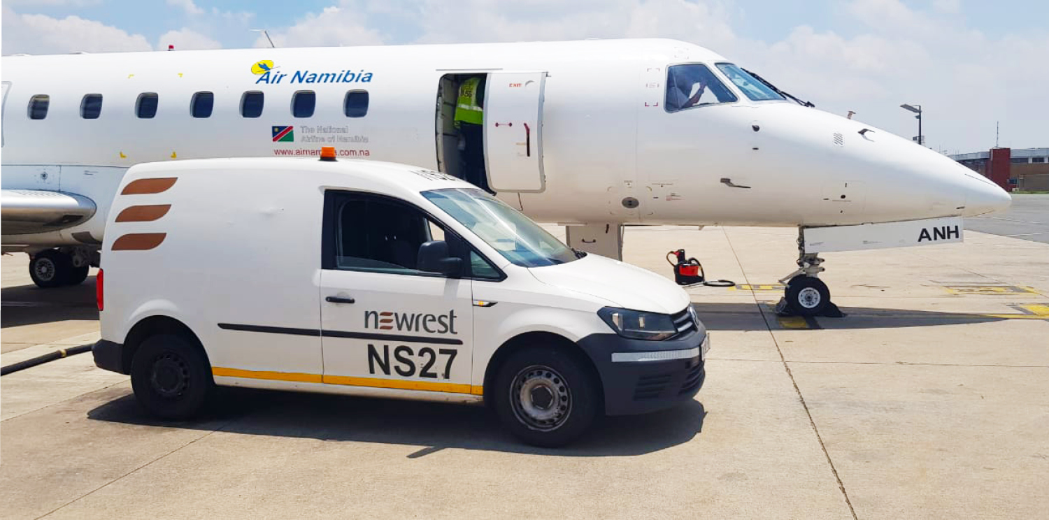Newrest South Africa re-started operations with Air Namibia and Air Seychelles