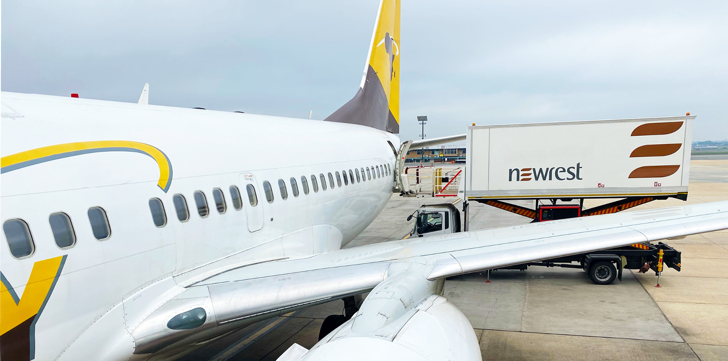 Newrest South Africa resumed services to Asky from Johannesburg