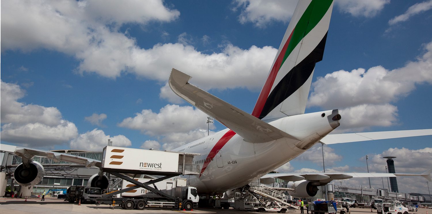 Emirates and Newrest extend global partnership in inflight catering