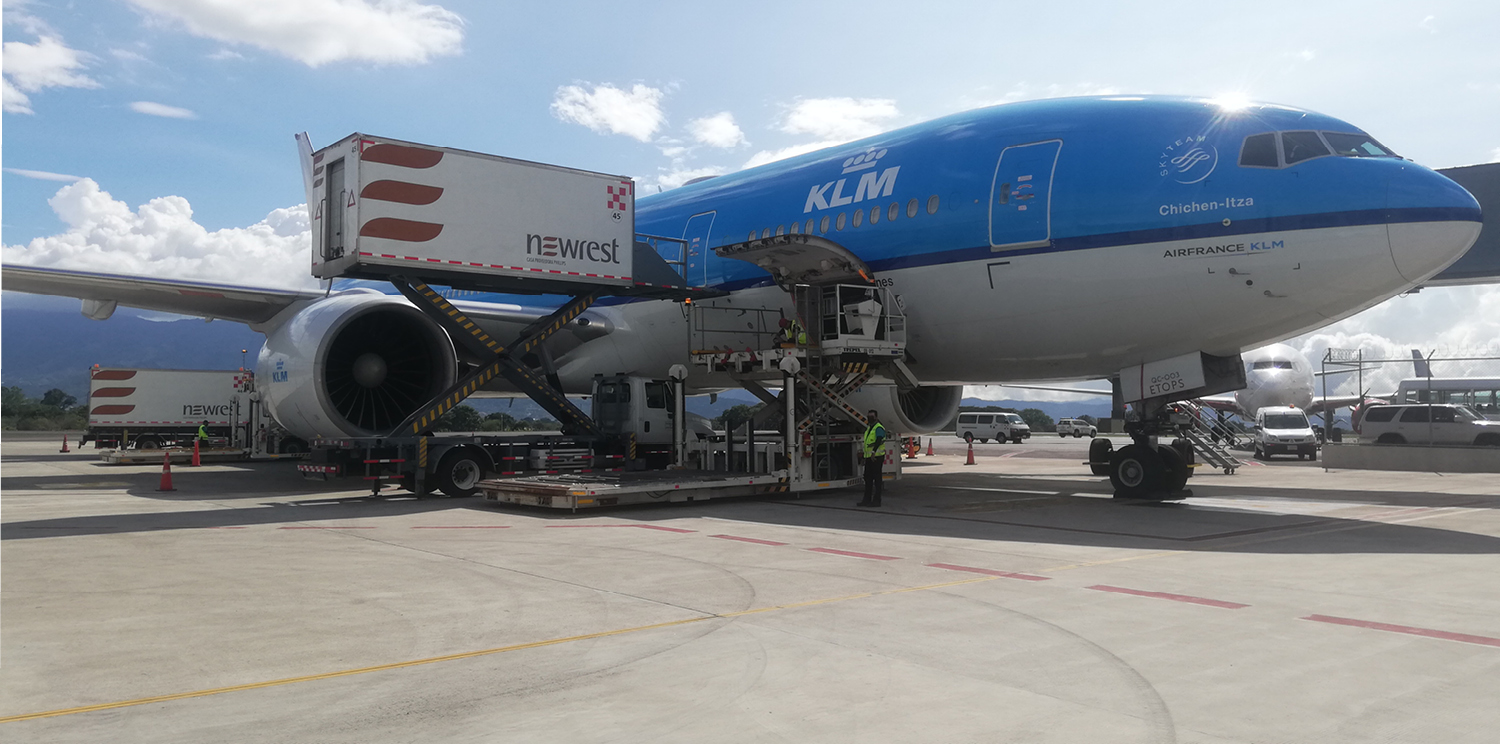 Air France and KLM relaunch our inflight catering services in Costa Rica