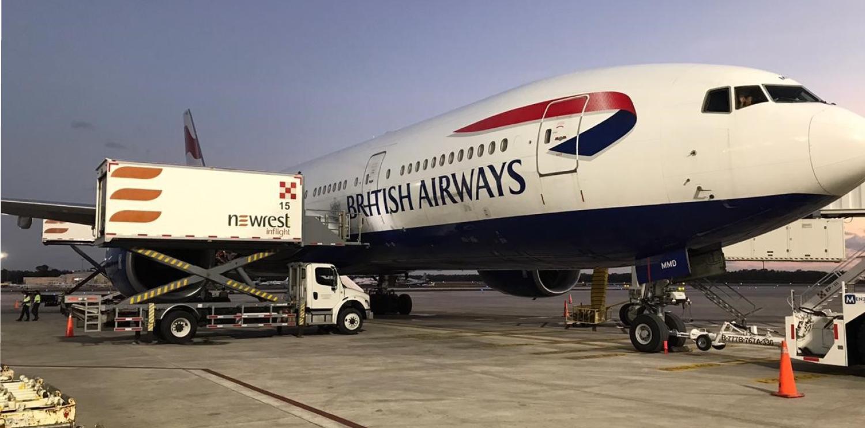 Newrest inicia sus servicios de catering aéreo con British Airways en Cancún