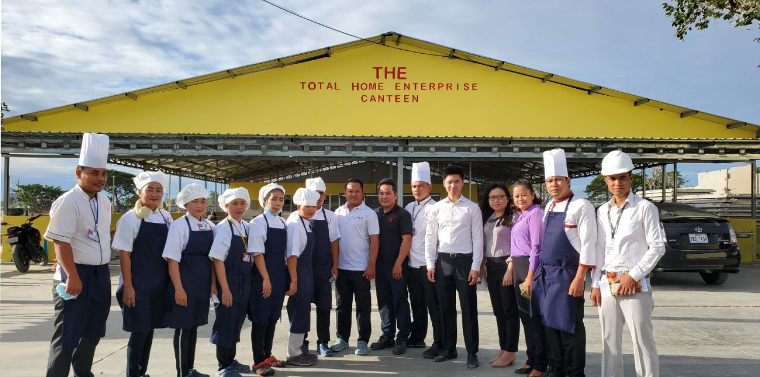 Newrest Cambodia opened The Park City, a new catering site in Poipet City