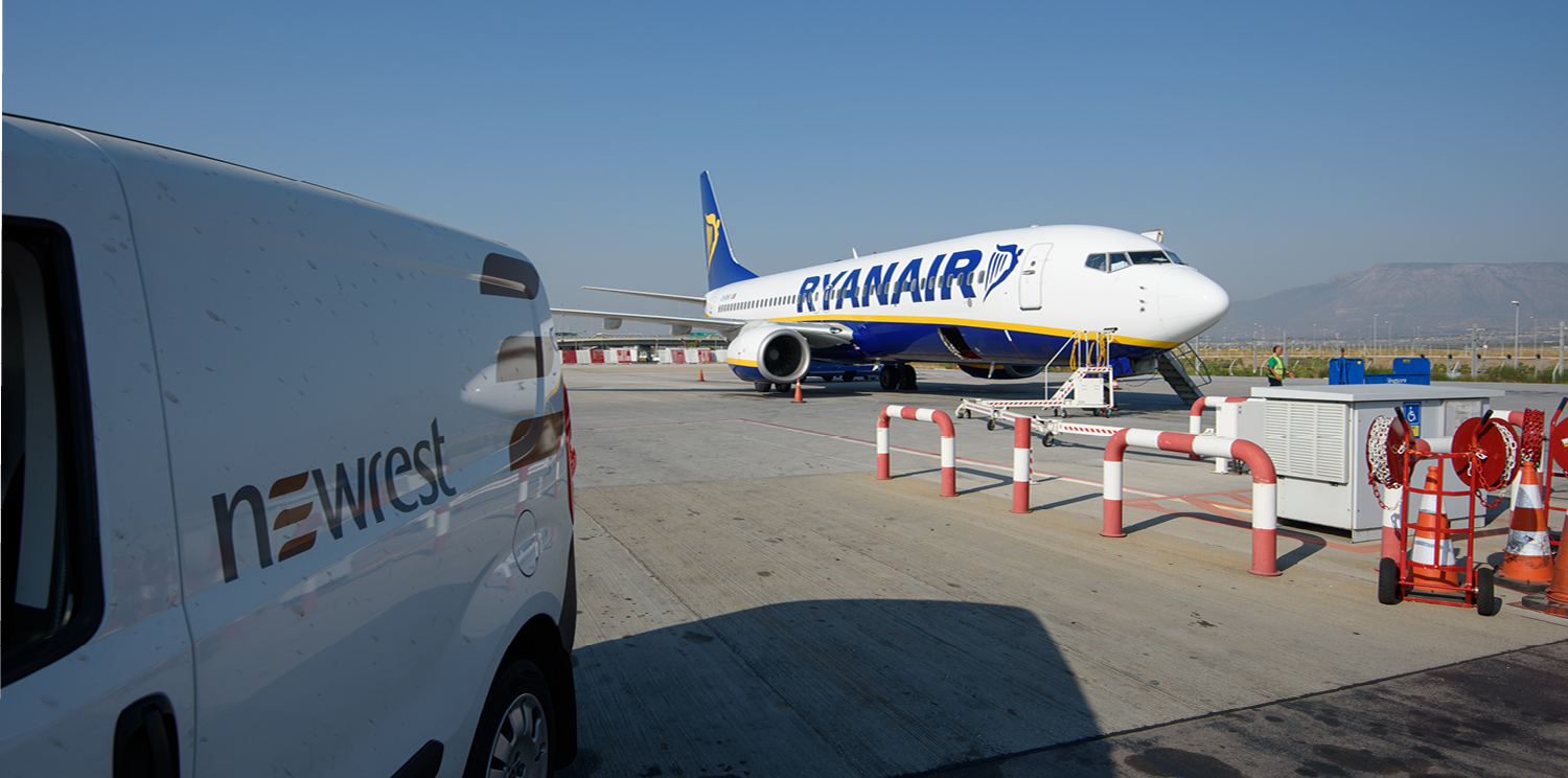 Ryanair extends partnership with Newrest in Europe and North Africa
