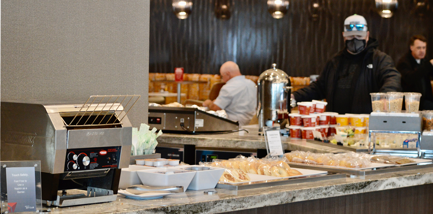 Despite the crisis, Newrest opens a new airport lounge in the USA